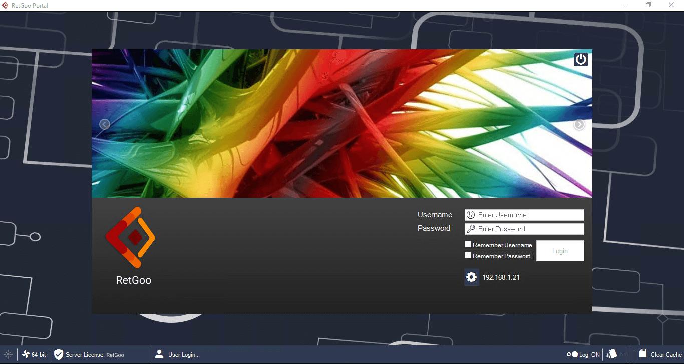 RetGoo Portal: Login