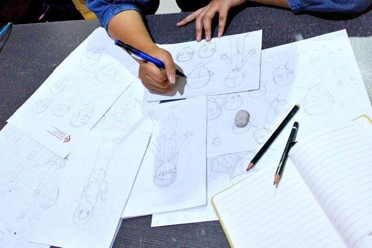 Pembuatan Konsep dan Sketsa