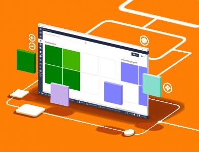 RetGoo Portal 2020 - Dasbor 3D - transparent